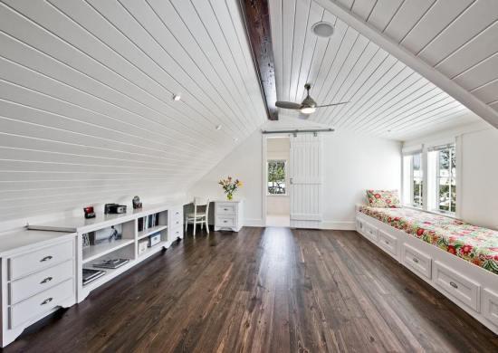 Turn attic into a finished loft