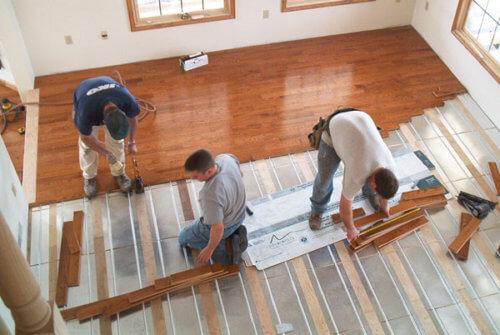 Hydronic Radiant Flooring