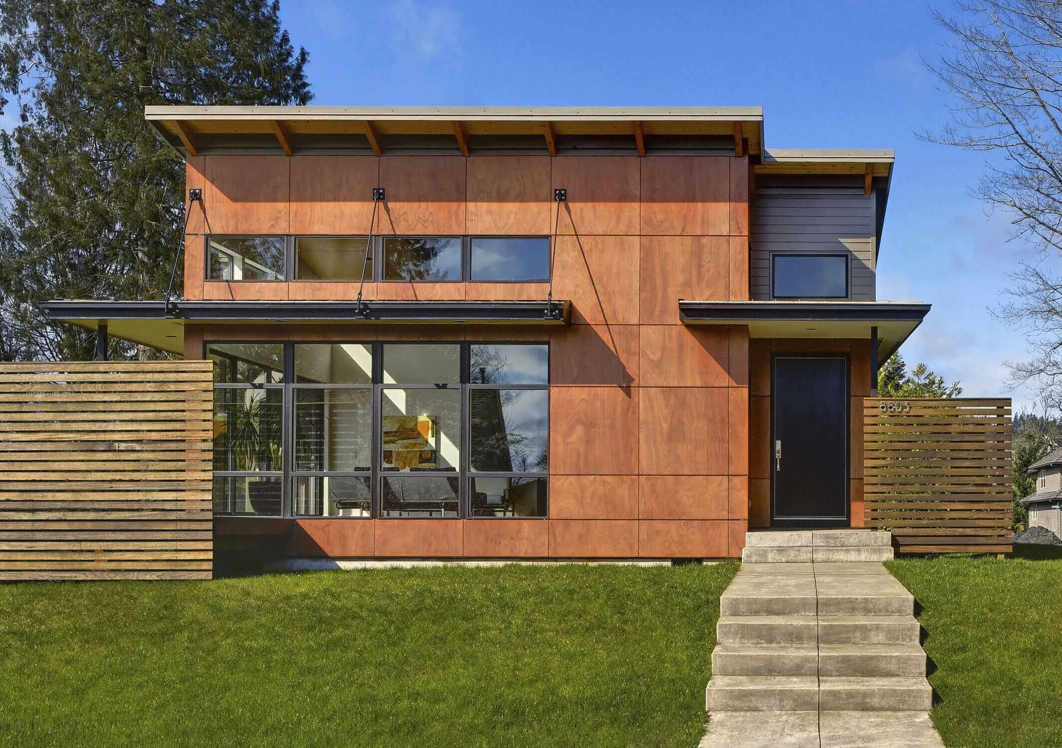 Parklex Wood Architectural Panel Siding Remodeling Cost