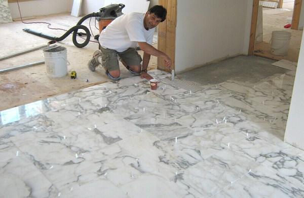 Professional Tile Floor Installation