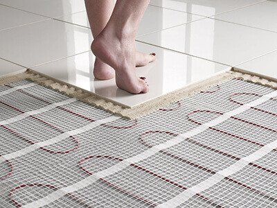 radiant floor heating cost hydronic