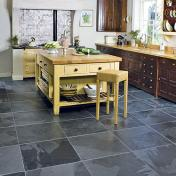 Stone Tile Kitchen Flooring
