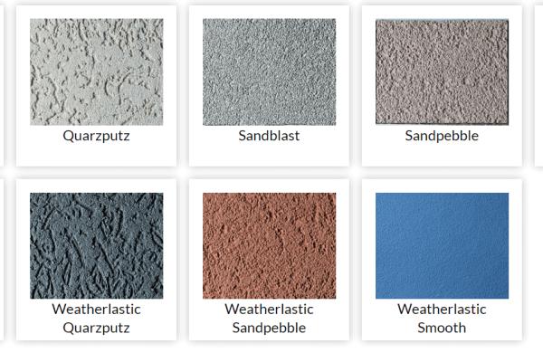 Stucco textures