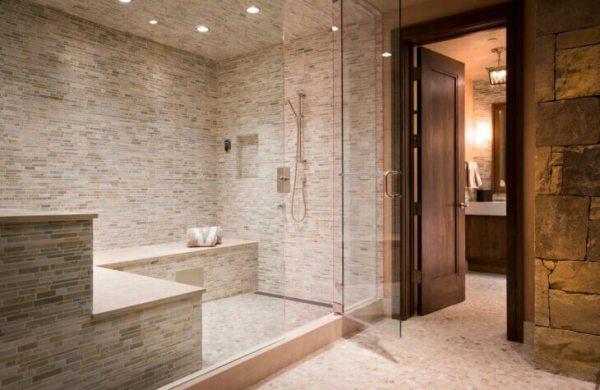 steam shower design