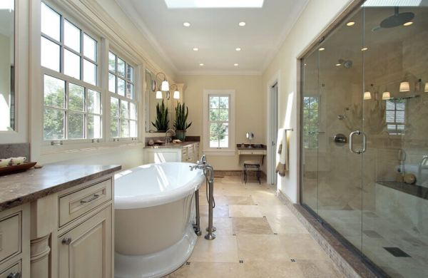 luxury fixtures for a bathroom renovation