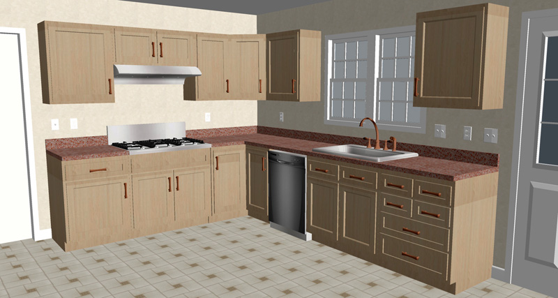 Kitchen remodel cost how much to remodel a kitchen in for Basic kitchen remodel ideas