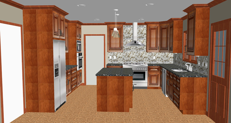 Kitchen remodel cost how much to remodel a kitchen in for Complete kitchen remodel price