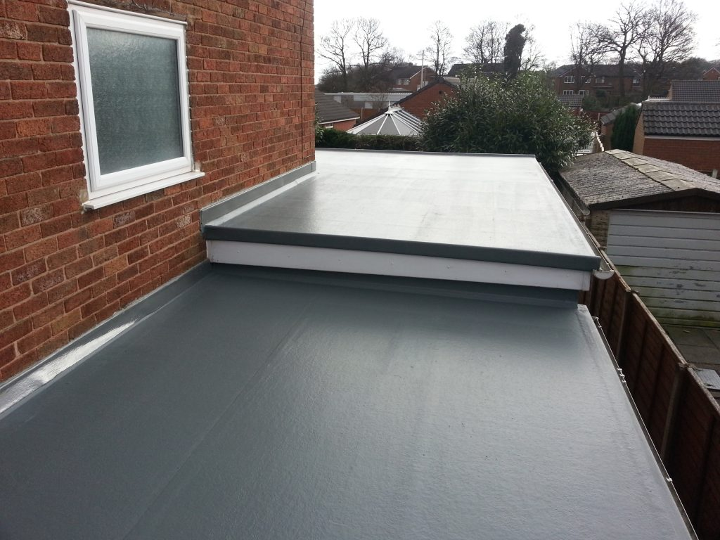 Flat roof: application advantages