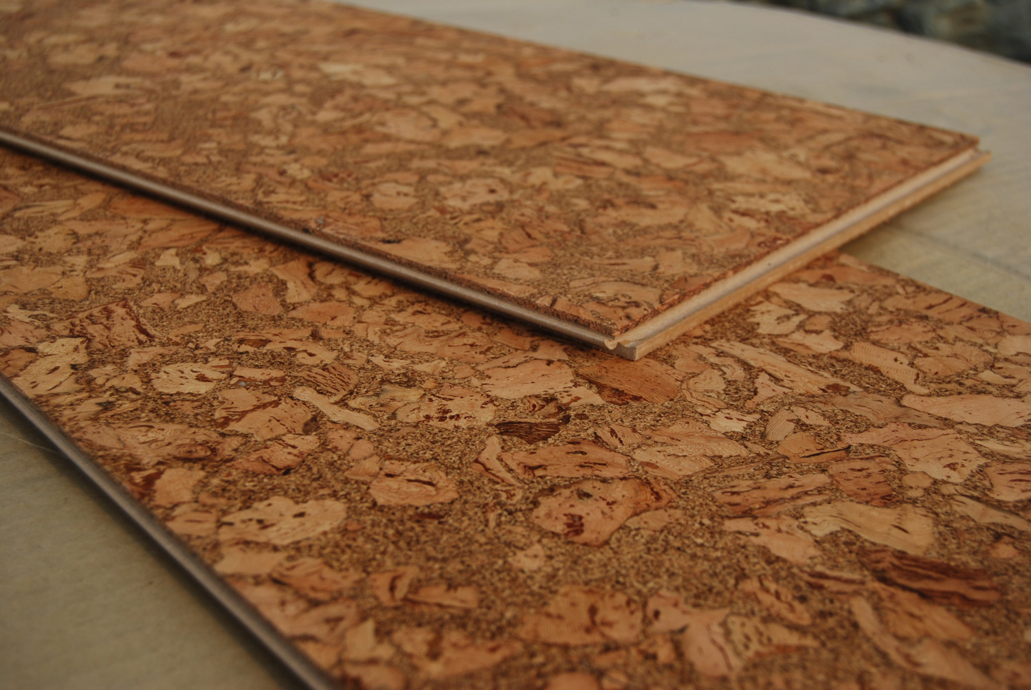 Top 15 flooring ideas plus costs installed pros and for Cork flooring wood grain look