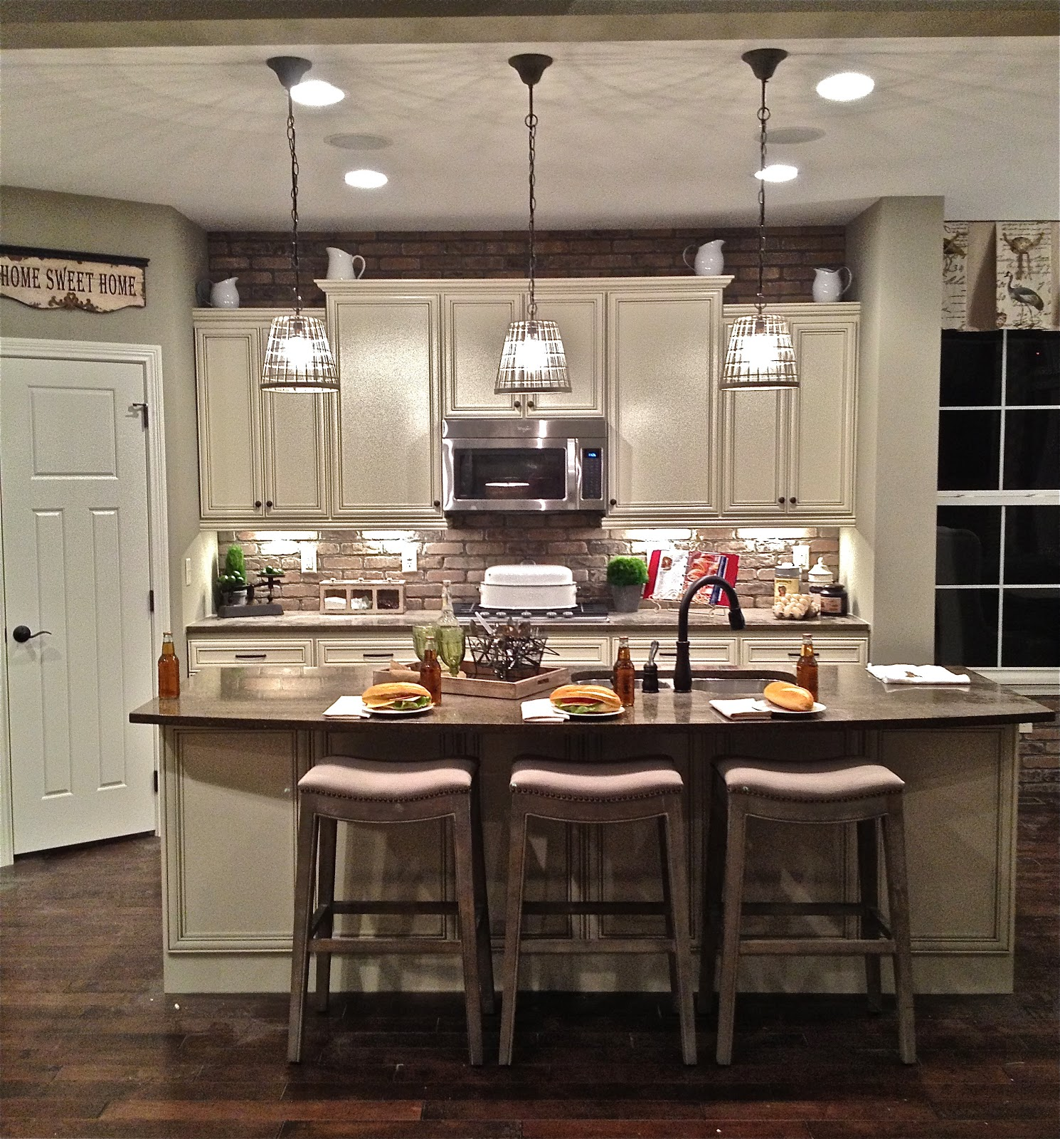 18 amazing kitchen island ideas plus costs roi home - Kitchen led lighting design guidelines ...