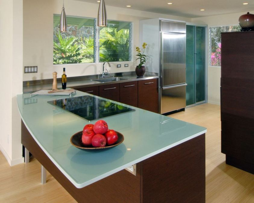 contemporary-kitchen-glass-top