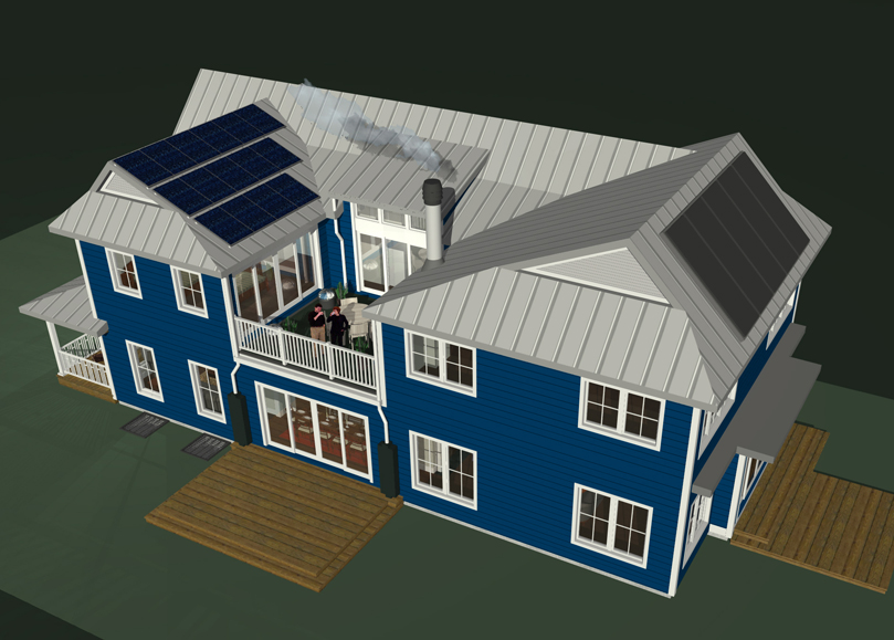 standing-seam-metal-roof-with-pv-solar-and-solar-hot-water