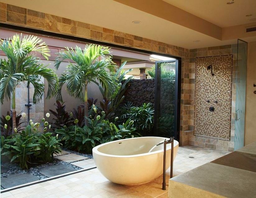 Amazing Bathrooms open space bathroom