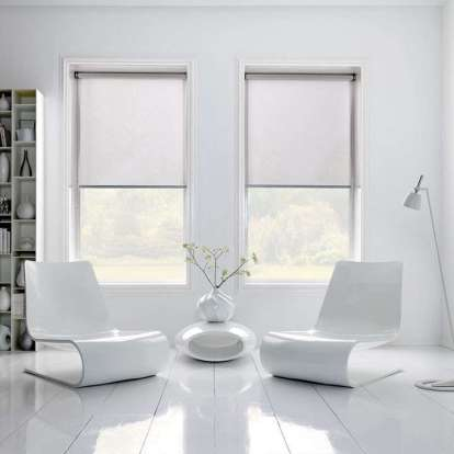 Roller-blinds-Traditional-window-frames from Remodelista