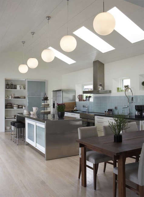 Kitchen Globe Pendant Lights In Multiples Remodelista