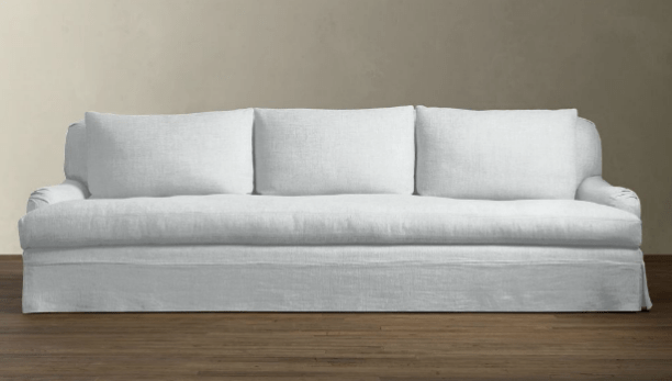 10 Easy Pieces Linen Slipcovered Sofas Remodelista