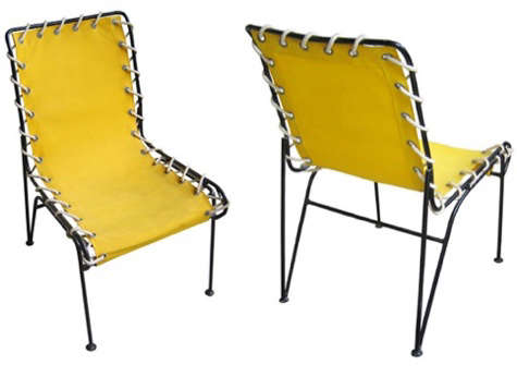 1950s american outdoor chairs