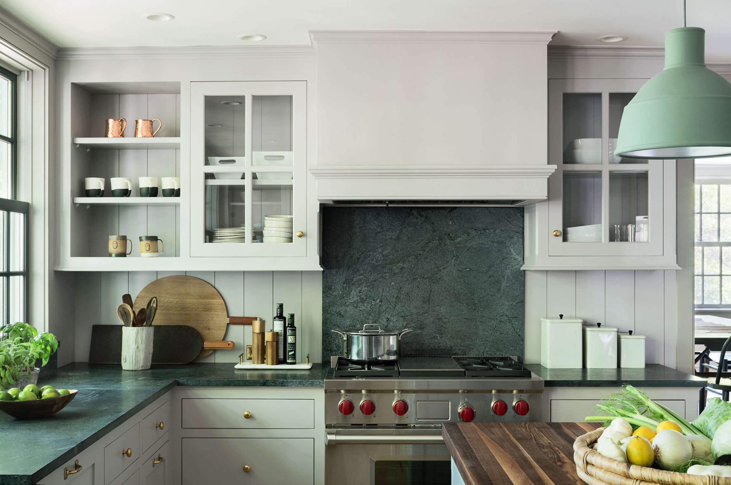 Architect Visit: A Renovated Farmhouse in Bedford with ... on Farmhouse Countertops  id=72293