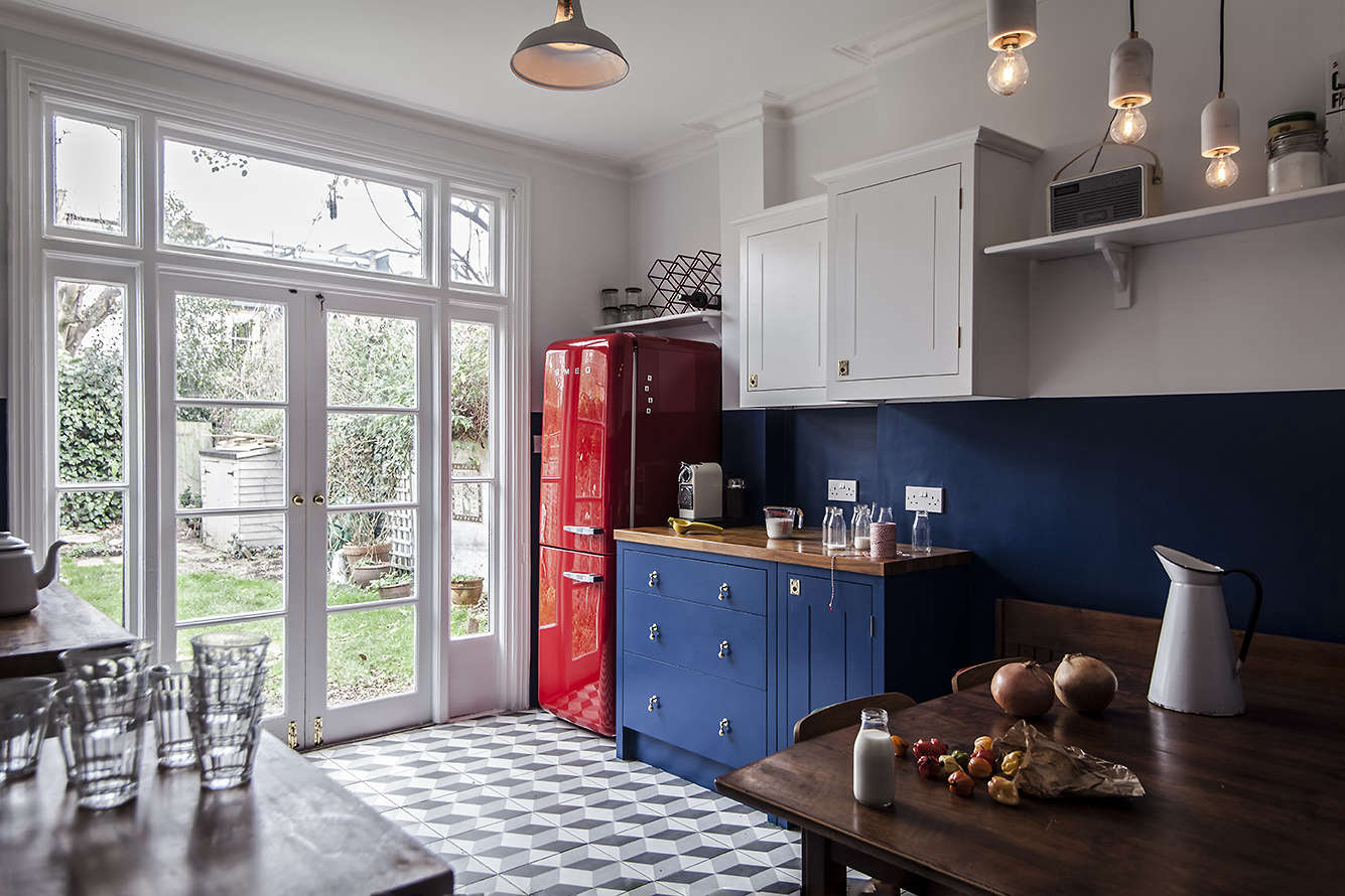 Steal This Look A Cost Conscious Retro Kitchen In London