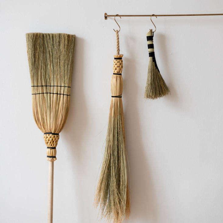 Brooms by Prairie Breeze Folk Arts Studio via June Home Supply