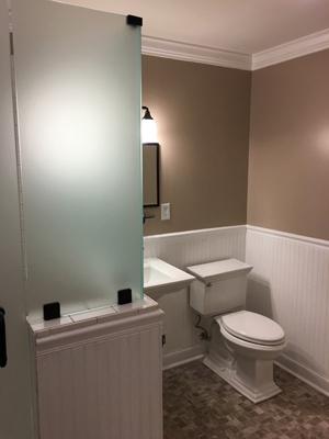 basement bathroom additions | we build basement bathrooms in