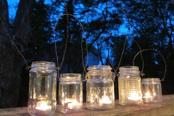 How to make mason jar lights