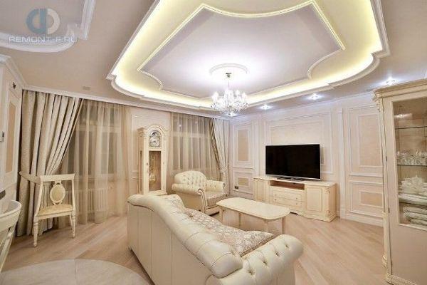 Гостиная в классическом стиле Актуальный дизайн и фото