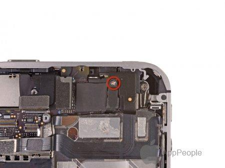 Как поменять верхний динамик на айфон 4s