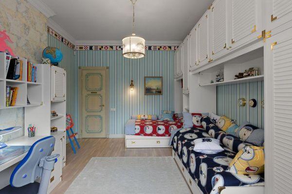Современные обои в детской комнате | Идеи для интерьера и ...