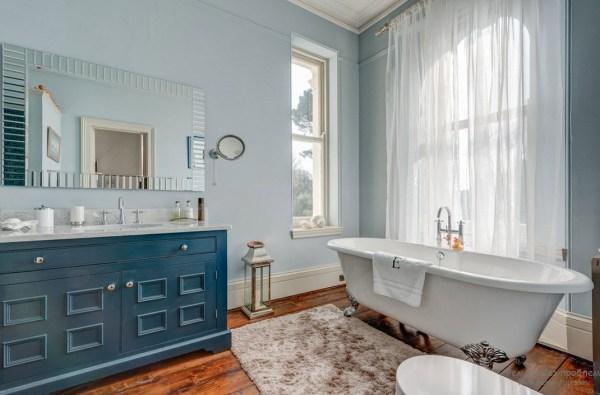 Синяя ванная интерьер и дизайн идеи обустройства комнаты