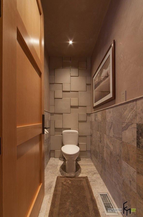 отделка туалета плиткой фото дизайн 2