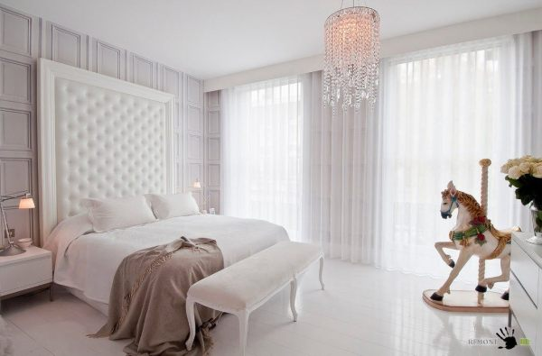 100 лучших идей для белой спальни на фото | Интерьер и Дизайн