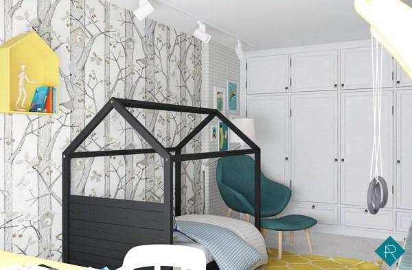 100 лучших идей обои в детской комнате для мальчика