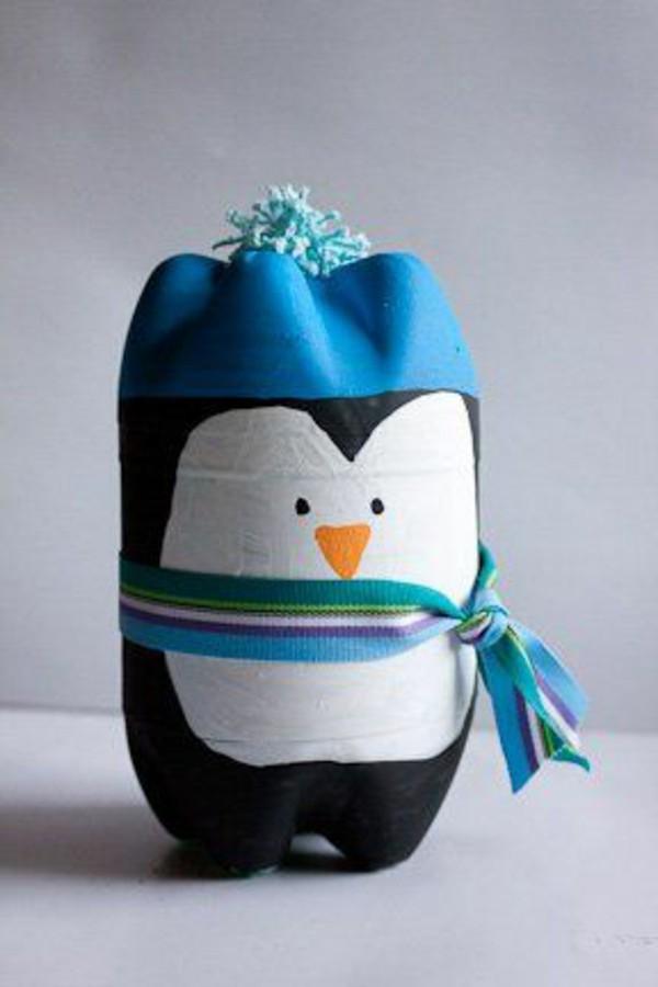 Penguin Botol Plastik.