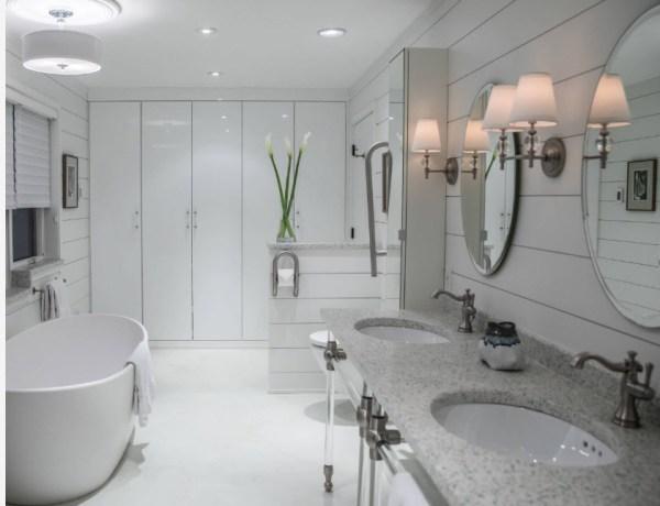 100 самых современных идей: дизайн ванной комнаты 2019