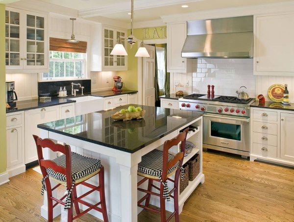 Кухня 13 кв. м: 200 новых идей декорации и украшений на ...