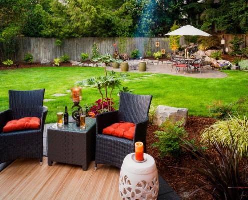 Кресла для отдыха на придомовом участке