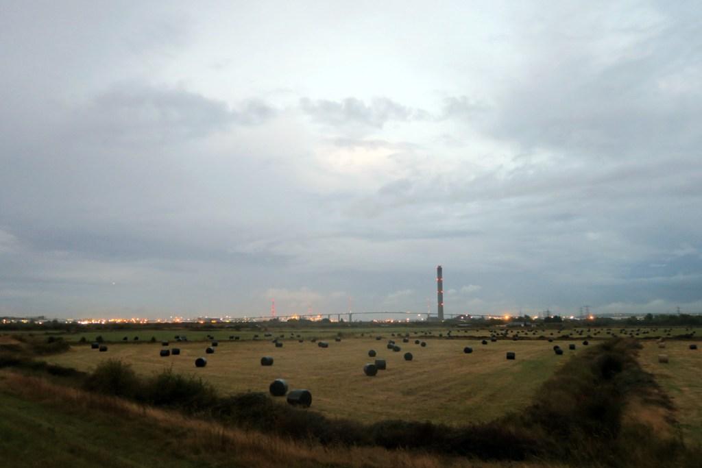 Dartford Marshes at dusk