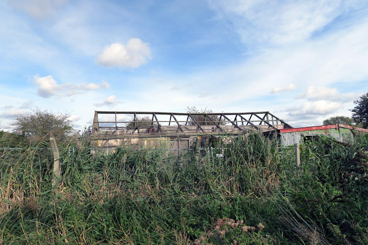 Wells firework factory on Dartford Marshes