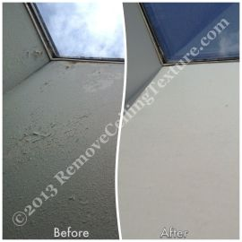 Cracked and peeling skylight fixed in New Westminster