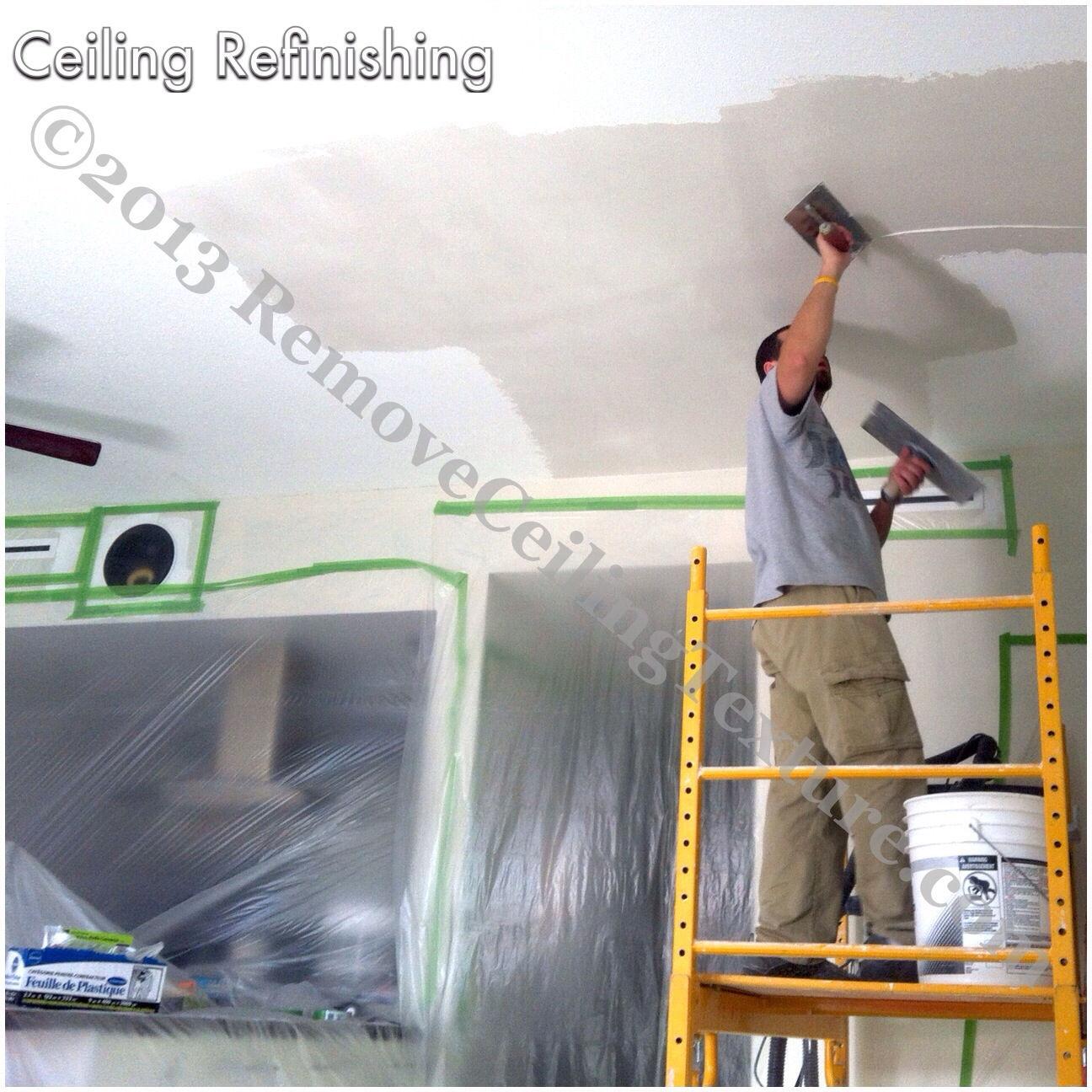 Ceiling Refinishing Removeceilingtexture Com Vancouver