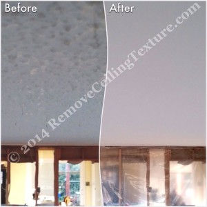 Ceiling Finishes:  Smooth Ceilings - Dining room in Port Coquitlam has the texture removed