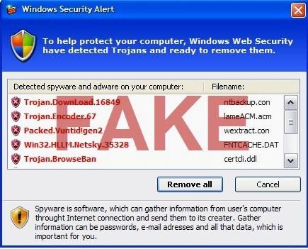 Windows-Sicherheitswarnung