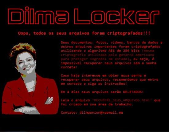 entfernen DilmaLocker Ransomware