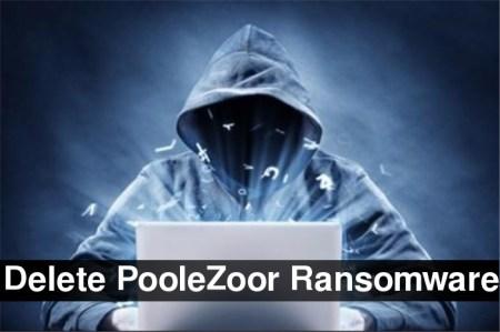 Löschen Sie PooleZoor Ransomware
