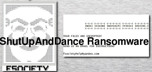 Supprimer ShutUpAndDance Ransomware