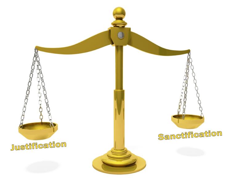 Justification sanctification 1