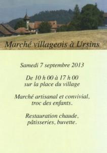 marché Ursins