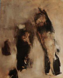 Asphalt, 100 x 120