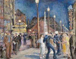 Beatrice Cuming, Saturday Night, New London, 1935-43
